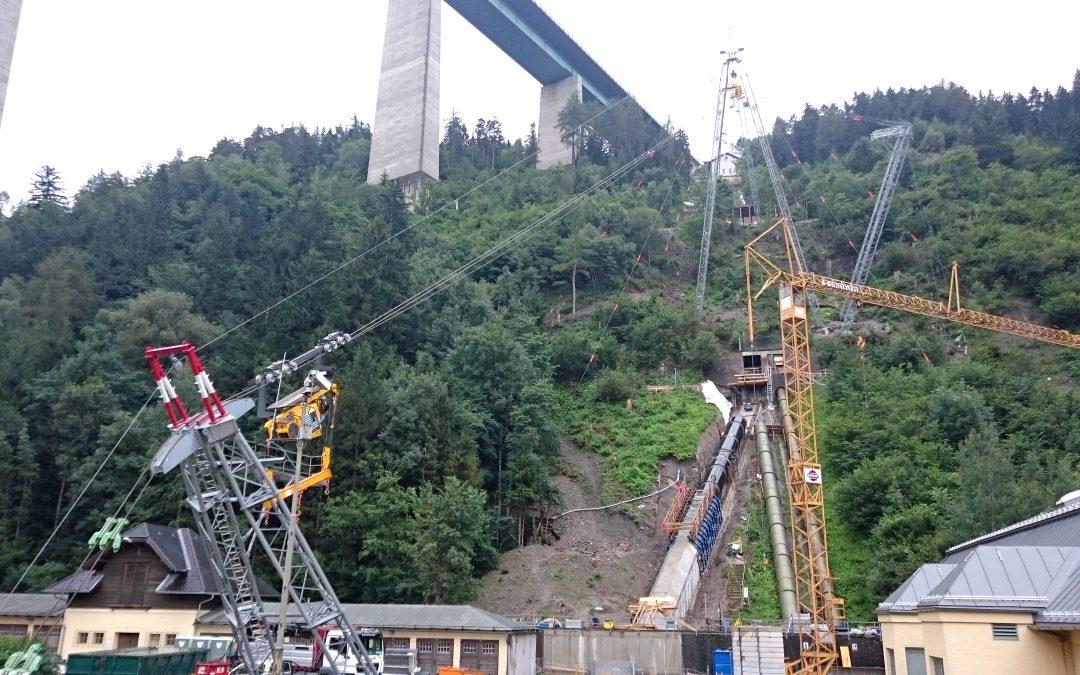 Kraftwerk Obere Sill Seilbahn | Sill